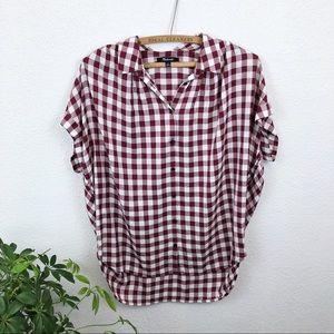 Madewell Gingham Buffon Shirt